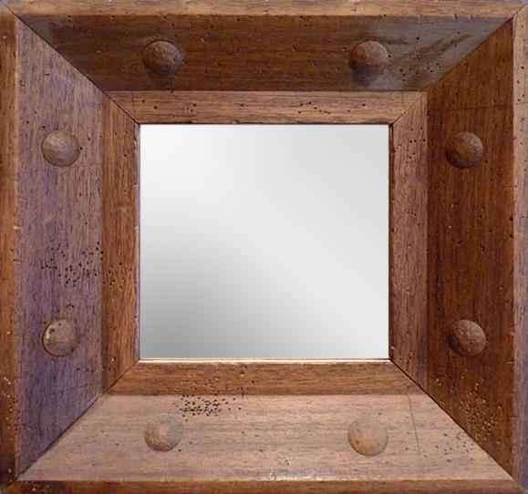 Ideas de dise o espejos bilbao decoraci n de - Marcos rusticos para espejos ...